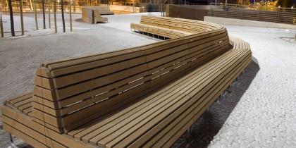 Balcon bench