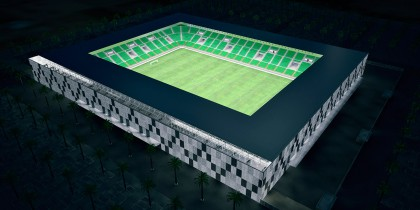 Estadio fútbol Libia