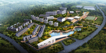 Sichuan Fulin Automotive Industry Center. Mianyang, China
